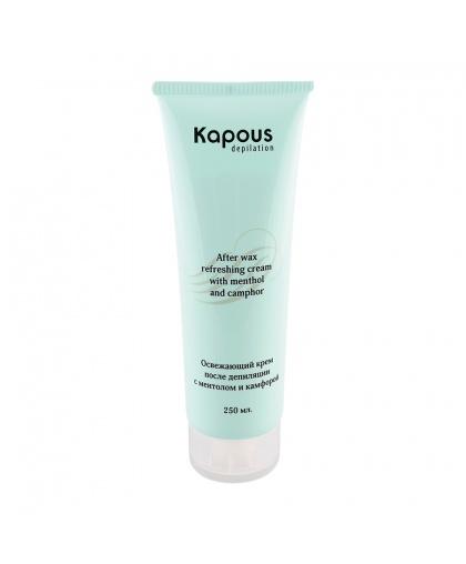 Освежающий крем после депиляции с ментолом, 250 мл Kapous Depilation