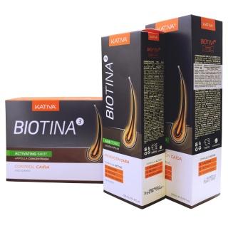 Линия BIOTINA против выпадения волос Kativa