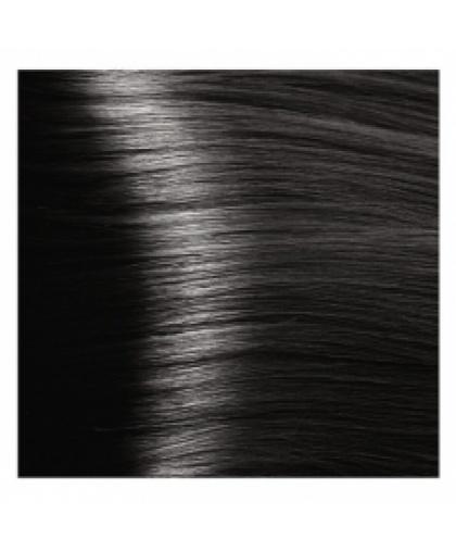 Крем-краска для волос Kapous Fragrance free с кератином «Non Ammonia» NA 1.0 черный, 100 мл