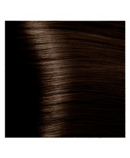 Крем-краска для волос Kapous Fragrance free с кератином «Non Ammonia» Magic Keratin NA 4.83 Коричневый анис, 100 мл