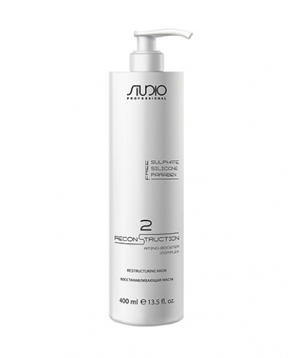 Восстанавливающая маска для волос Kapous Studio Professional Total Reconstruction, 400 мл