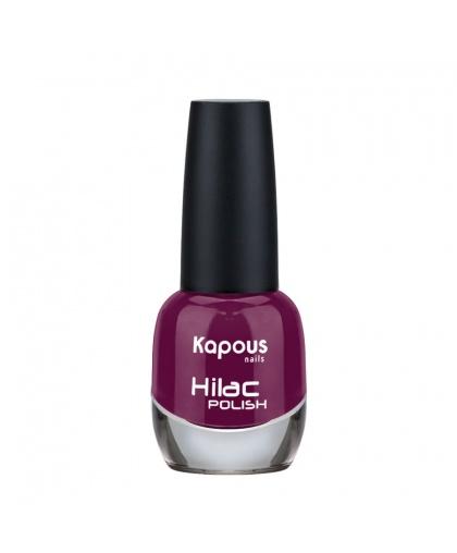 """Лак для ногтей """"Город красоты"""" Hilac Kapous Цвет: темно-вишневый"""