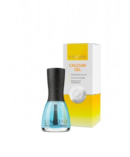 Уход за ногтями Calcium Gel Кальциевый щит 15 мл, Limoni