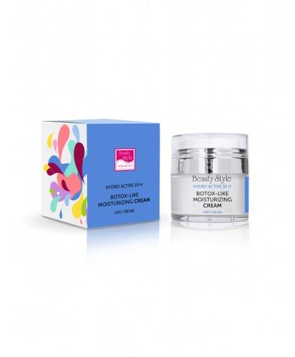 Дневной увлажняющий крем Beauty style Botox - like hydro active с ботоэффектом, 30 мл