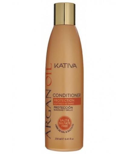 ARGANA Увлажняющий безсульфатный кондиционер для волос с маслом Арганы 250мл Kativa