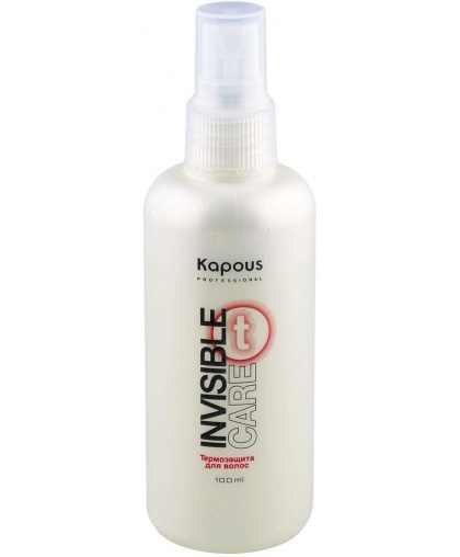 Kapous Professional Спрей-термозащита для волос Invisible care, 100 мл