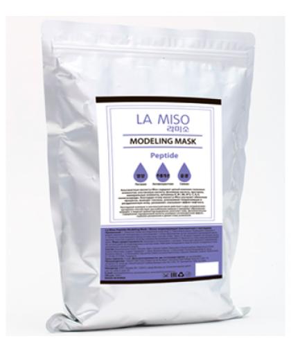 La Miso Маска моделирующая (альгинатная )с пептидами 1000 г