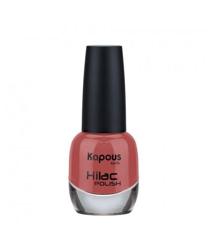 """Лак для ногтей """"Воспоминания"""" Hilac Kapous Цвет: красно-коричневый"""