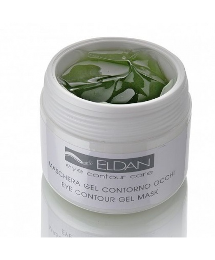 Гель-маска Eldan Cosmetics для глазного контура Eye contour gel mask, 100мл