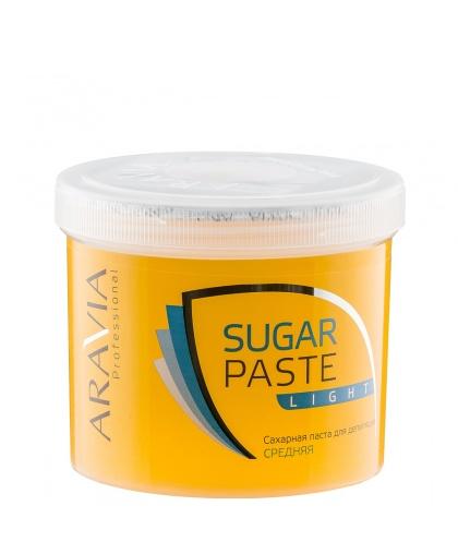 """ARAVIA Professional"" Сахарная паста для шугаринга ""Легкая"" средней консистенции, 750 г."