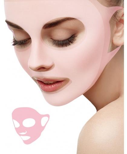 Beauty Style Маска для лица фиксирующая силиконовая