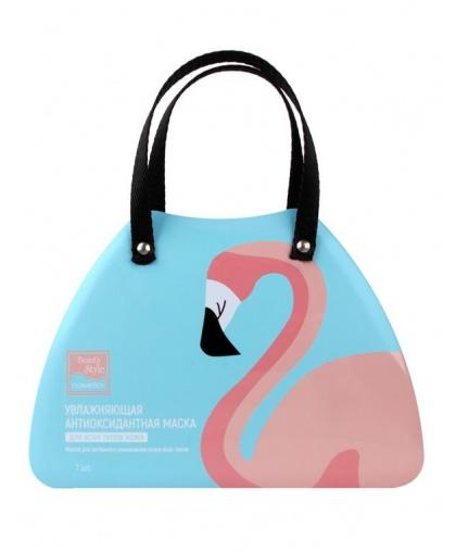 Увлажняющая антиоксидантная маска для всех типов кожи Lovely Care 30гр х 7шт Фламинго Beauty Style