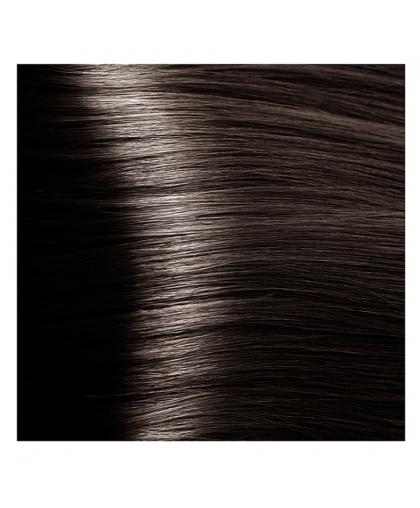 Крем-краска для волос Kapous STUDIO 5.12 светло-коричневый пепельно-перламутровый с экстрактом женьшеня и рисовыми протеинами, 100 мл