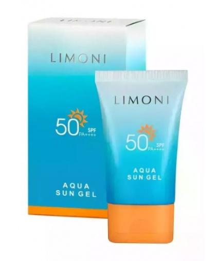 Крем-гель солнцезащитный SPF 50+ Limoni Aqua Sun Gel 50 мл