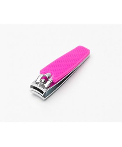 Книпсер Silver Star для ногтей, для маникюра АТ-295 Classic 57мм розовый силикон