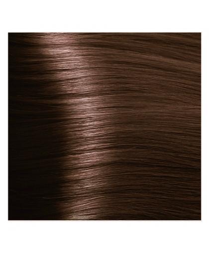 """Крем-краска для волос Kapous Fragrance free """"Magic Keratin"""" NA 6.35 темный янтарно-каштановый блонд, 100 мл"""