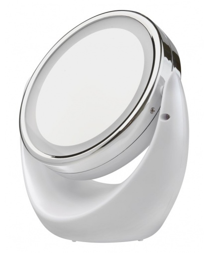 Косметическое зеркало Gezatone с 5х увеличением и подсветкой LM110