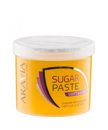 """""""ARAVIA Professional"""" Сахарная паста для шугаринга """"Мягкая и легкая"""" мягкой консистенции (Soft and light), 750 г."""