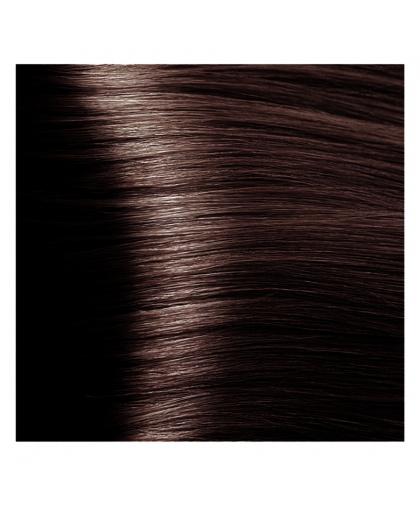 Крем-краска для волос Kapous Fragrance free с кератином «Non Ammonia» NA 4.4 медно-коричневый, 100 мл