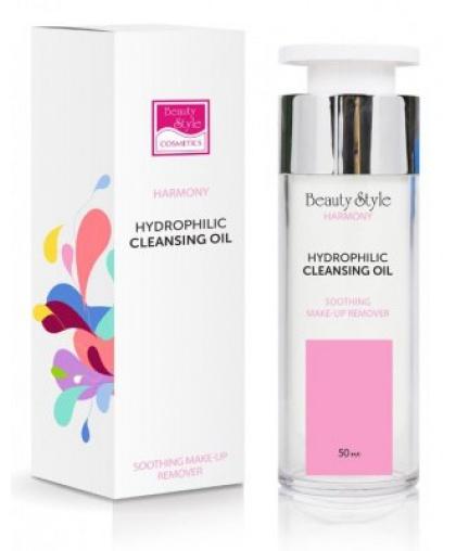 Гидрофильное масло Beauty Style Harmony  для очищения кожи с витамином Е, 50мл