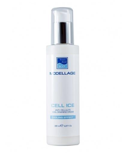 "Антицеллюлитный крем Beauty style для тела ""Cell Ice"" Modellage, 200 мл"