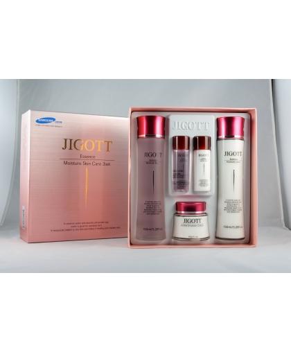 JIGOTT Essence Moisture Skin Care Набор увлажняющих косметических средств для ухода за лицом