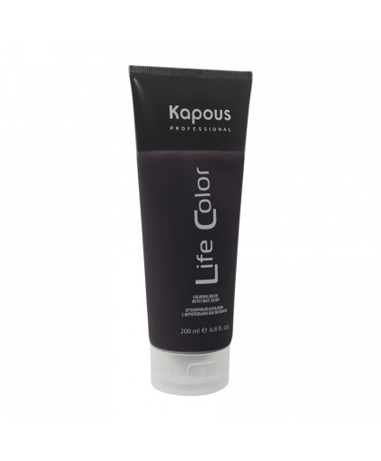Kapous Professional Оттеночный бальзам для волос «Life Color», коричневый, 200 мл