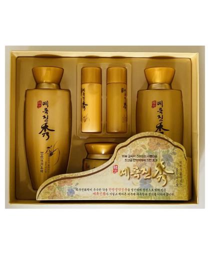 JIGOTT Yerokjinsu Набор косметики Восточные травы для комплексного ухода за кожей лица