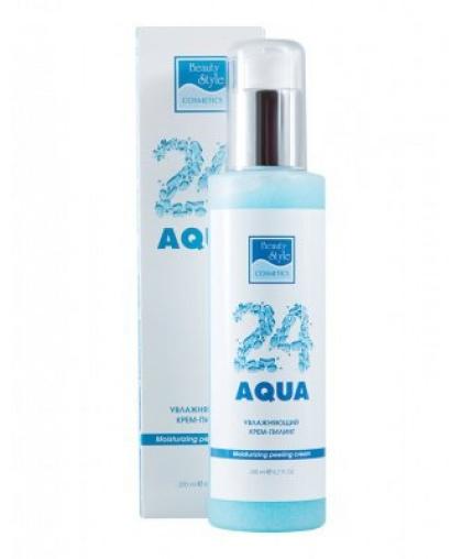 Увлажняющий крем-скраб  Beauty Style Аква 24 200мл
