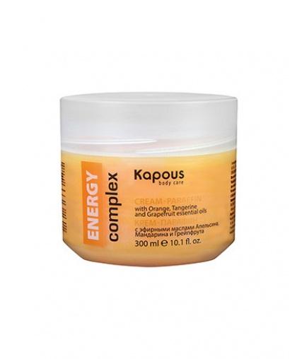 Крем-парафин Kapous Body Care ENERGY complex с эфирными маслами Апельсина, Мандарина и Грейпфрута, 300 мл