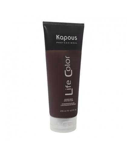 Kapous Professional Оттеночный бальзам для волос «Life Color», песочный, 200 мл