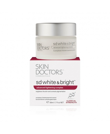 Skin Doctors SD White & Bright Отбеливающий крем для лица, 50 мл