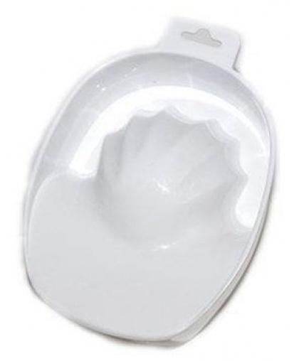 Емкость косметологическая для маникюра пластиковая белая