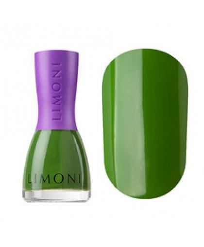 Лак для ногтей Limoni VINYL устойчивый 834 тон (зеленый), 7 мл