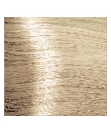 Краска для волос Kapous STUDIO 10.0 платиновый блонд крем-краска для волос с экстрактом женьшеня и рисовыми протеинами, 100 мл