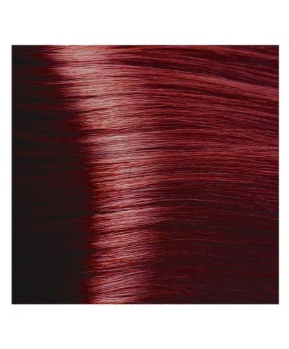 Крем-краска для волос Kapous STUDIO 7.62 красно-фиолетовый блонд с экстрактом женьшеня и рисовыми протеинами, 100 мл