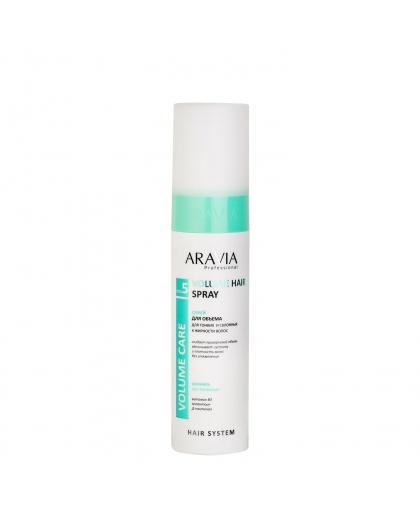Спрей для объема для тонких и склонных к жирности волос Volume Hair Spray, 250 мл, ARAVIA Professional