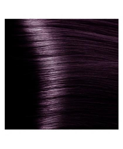 Крем-краска для волос Kapous STUDIO 02 усилитель фиолетовый с экстрактом женьшеня и рисовыми протеинами, 100 мл