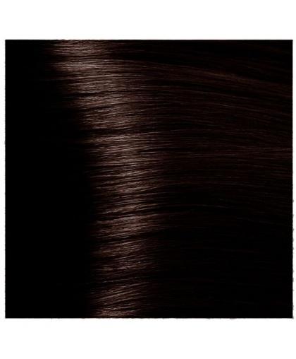 Крем-краска для волос Kapous Fragrance free с кератином «Non Ammonia» Magic Keratin NA 3.53 Темный коричневый терракотовый, 100 мл