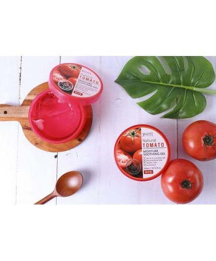 JIGOTT Natural Увлажняющий успокаивающий гель с экстрактом томата , 300 мл