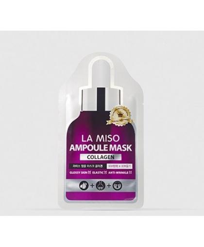 La Miso Коллагеновая ампульная маска-салфетка, 25 гр