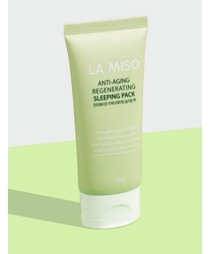 La Miso Антивозрастная восстанавливающая ночная маска Anti-Aging Regenerating Sleeping Pack, 50 гр