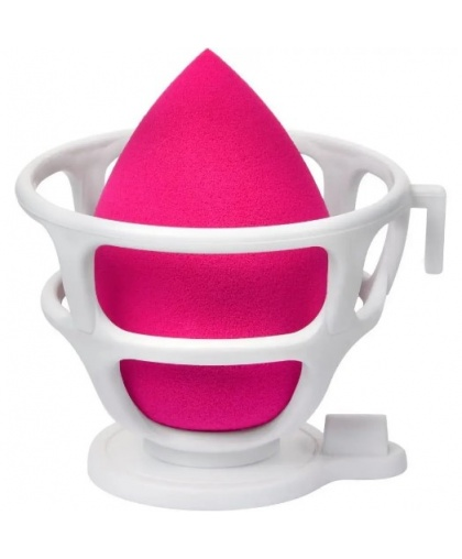"Спонж для макияжа в наборе с корзинкой ""Blender Makeup Sponge"" Red, Limoni"
