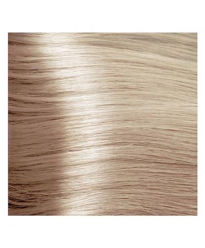 Крем-краска для волос Kapous STUDIO Professional 921 суперосветляющий фиолетово-пепельный блонд с экстрактом женьшеня и рисовыми протеинами, 100 мл