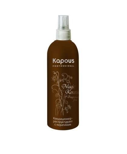 Kapous Magic Keratin Кондиционер-реструктурант для волос с кератином, 200 мл