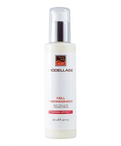 "Антицеллюлитный крем Beauty Style""Cell Thermoshock"" Modellage, 200 мл"