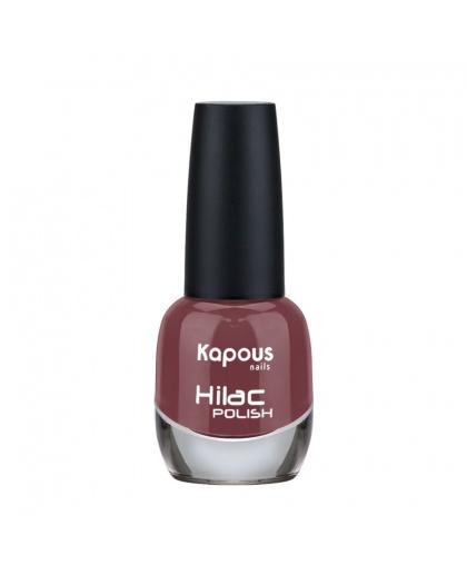 """Лак для ногтей """"Вельможа"""" Hilac Kapous Цвет: вишнево-коричневый"""