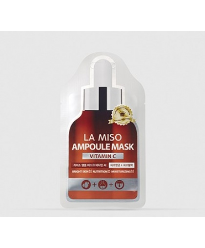 La Miso Ампульная маска-салфетка с витамином C, 25 гр