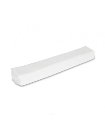 Воротнички для парикмахерских работ, спанлейс, 7*40 см., белые, 100 шт. в упаковке