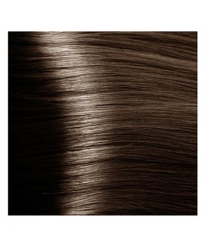 Крем-краска для волос Kapous Fragrance free с кератином «Non Ammonia» Magic Keratin NA 6.81темный коричнево-пепельный блонд , 100 мл
